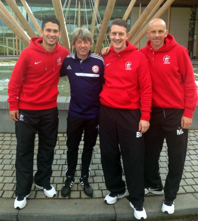 Coaches with Jesper