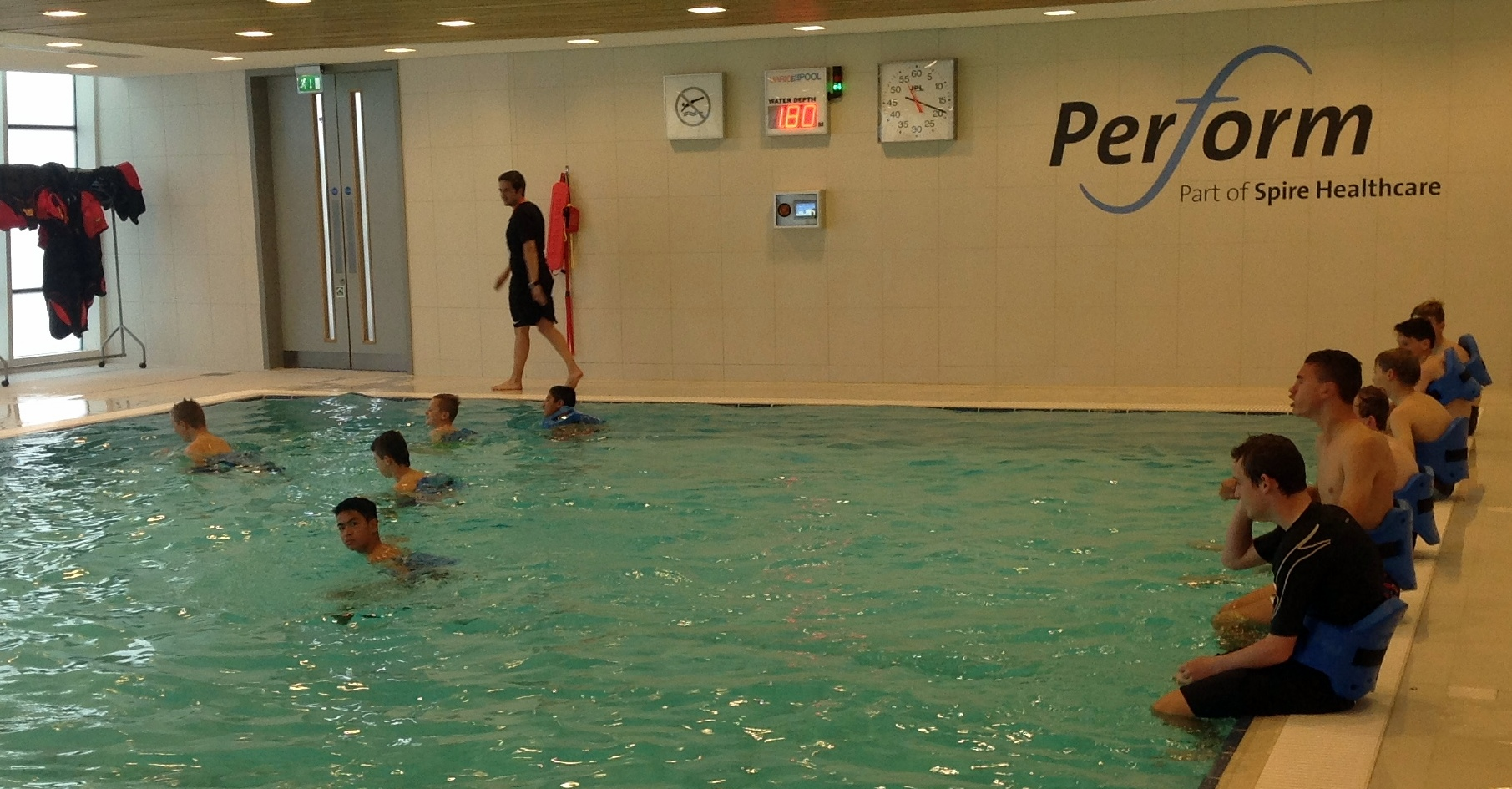 Recovery Session at SGP